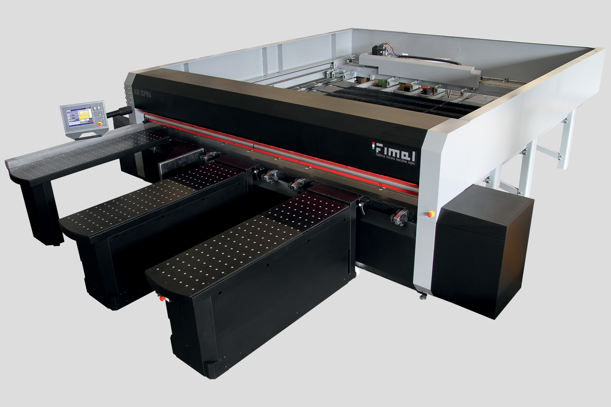 Electronic Panel Saw KR-Spin Rotomatic Fimal